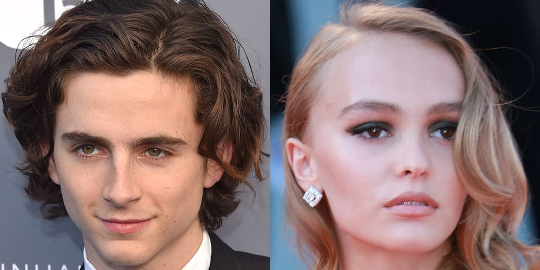 Omg Timothee Chalamet And Lily Rose Depp Kissing Youbeauty