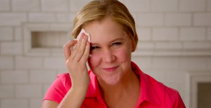 amy schumer no makeup